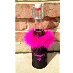Cowgirl Wine Bottle Koozies