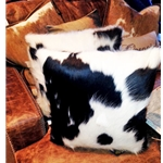 TLG-COWHIDE PILLOWS