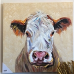 KA-6141 HAPPY COW CANVAS-HAPPY COW