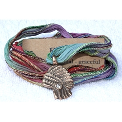 Multi Color Wrap Bracelet