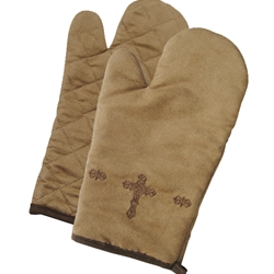 Cross Oven Mitt