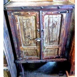 Old Door Chest