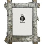 "5""x7"" Birch Log Picture Frame"