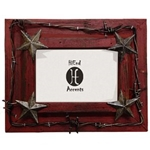 "4""x6"" Barbwire Picture Frame"