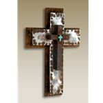 "6""x9"" Hammered Cross"