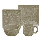 Taupe Savannah Dish Set